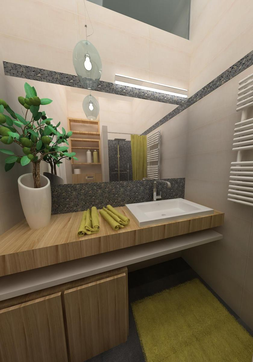 Small apartment design bathroom kea studio Bathroom design for studio apartment